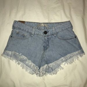 Pants - We Love Denim Cutoff Shorts